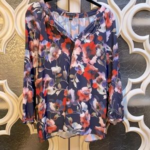 WILLI SMITH Floral Print Blouse
